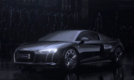 The Audi R8 Star of Lucis has come to the real world from FFXV - YouTube (2)